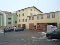 Stavba Domažlice market