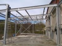 Stavba nového marketu Sušice